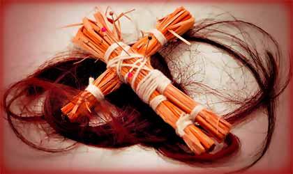 Интересные любовные привороты с волосами