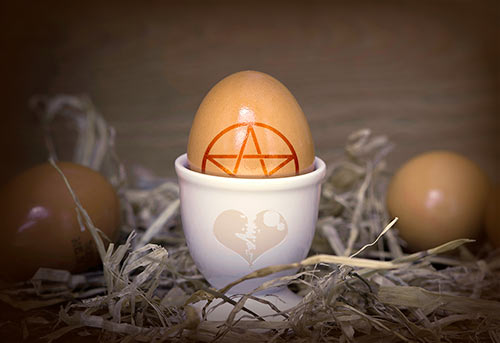 быстрый приворот на яйцо